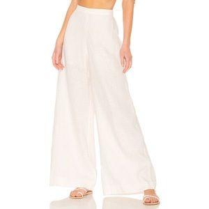 For Cynthia | Wide Leg Linen Pants